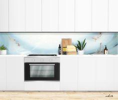 Sims 4 CC's - The Best: Kitchen Panels by viikiita