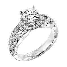 ArtCarved - 31-V259ERW Thomas S. Fox Jewelers Grand Rapids, MI
