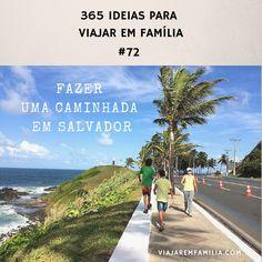 Fazer uma caminhada em Salvador