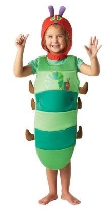 Very Hungry Caterpillar - brilliant for World Book Day! http://www.perfectpartyuk.com/fancy-dress/children-s-fancy-dress-costumes/