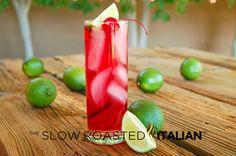 Cherry Limeade Cocktail