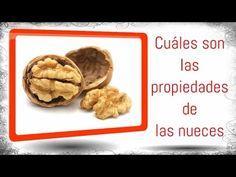 Comida saludable, Nueces Frutos Secos, Propiedades de la Nuez alimentos con fibra y omega 3 - YouTube