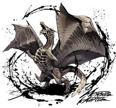 Old dragon wearing the wind [1] / Monster Hunter