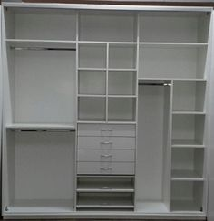 Me: Great for HERS space (half of it) Bedroom Closet Design, Master Bedroom Closet, Bedroom Wardrobe, Wardrobe Design, Wardrobe Closet, Built In Wardrobe, Closet Designs, Kid Closet, Closet Space