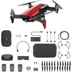 rc-quadcopters-DJI Mavic Air Camera Gimbal Sphere Panoramas Foldable RC Drone Fly More Combo - Flame Red Drones, Drone Quadcopter, Air Drone, Drone Diy, Surveillance Equipment, Drone For Sale, Drone Technology, Mavic, Drone Photography