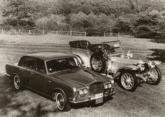 Rolls Royce Silver Shadow Silver Ghost Vintage by BallyDingRevue, $18.00