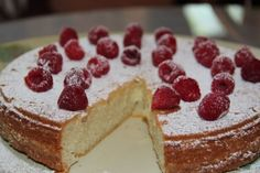 Scandinavian Almond Cake - The Buttonwood Inn - North Conway, New Hampshire Bed and Breakfast Inn.