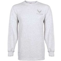 034562d15 GENUINE MILITARY ISSUE USAF PT LONG SLEEVE T-SHIRT WITH MOISTURE WICKING 100%  POLYESTER