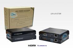 Extender HDMI com IR para 120 metros via CAT5/6 Lenkeng - LEN-LKV373IR