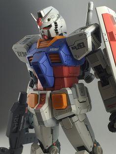 POINTNET.COM.HK - RG 1/144 RX 78 Gundam. Base gunpla: http://amzn.to/1RzTRlp