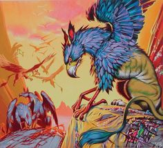 Gryphons by Angus McBride