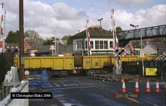 Narborough station engineering work - Narborough railway station - Wikipedia