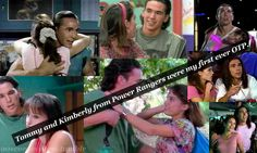Tommy Oliver And Kimberly Hart 90s Childhood, My Childhood Memories, Kimberly Power Rangers, Tommy Power, Kimberly Hart, Amy Jo Johnson, Tommy Oliver, Go Go Power Rangers, Love Conquers All