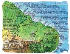 If you want a Road to Hana map that is a traditional folded paper map, I recommend Franko's Maui map.