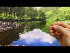 #63 How to Paint Realistic Trees   Oil Painting Techniques   Michael James Smith - YouTube