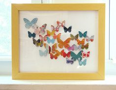 Paper butterfly collage by How About Orange, via Flickr
