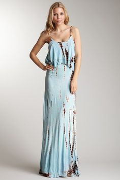 Maxi to dye for! Venus tie dye maxi dress. - Totally Tie Dye ...