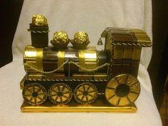 Поезд из конфет