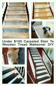 Merveilleux 83 Best Staircase Makeovers Images On Pinterest | Stairs, Banisters And  Basement Stairway