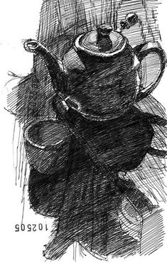 Znalezione obrazy dla zapytania ink illustration