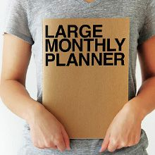 Планинг 'Large Monthly Planner'