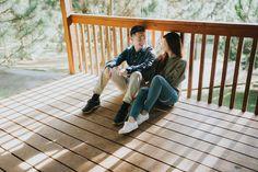 Life Goals, Deck, Photoshoot, Engagement, Outdoor Decor, Photo Shoot, Front Porches, Engagements, Decks