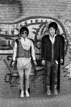 Zhang Zhaohui's interactive public art installation, 'You & Me', in Beijing.