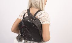 This studded backpack is the leather bag you need if you want to shock the rest. The Rocket backpack is part of the Starborn collection. Luxury Bag Brands, Luxury Bags, Leather Craft, Leather Bag, Studded Backpack, Colorful Interiors, Fashion Backpack, Attitude, Rest
