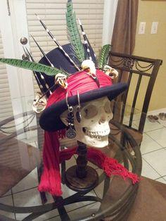 fantastic hat for voodoo theme