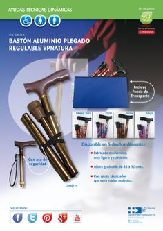 BASTON PLEGABLE DECORADO VP NATURA