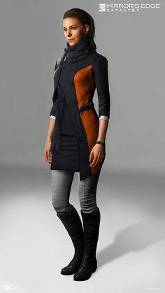 ArtStation - Mirror's Edge Catalyst - Aline Maera, Sanna Nivhede