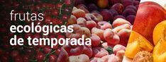 Frutas ecologicas de temporada para entregar en Madrid y alrededores
