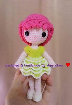Mesmerizing Crochet an Amigurumi Rabbit Ideas. Lovely Crochet an Amigurumi Rabbit Ideas. Crochet Amigurumi Free Patterns, Crochet Flower Patterns, Crochet Doll Pattern, Crochet Toys, Loom Knitting Stitches, Crochet Fairy, Doll Tutorial, Knitted Dolls, Soft Dolls