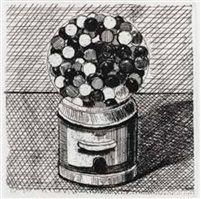 Gum Machine by Wayne Thiebaud
