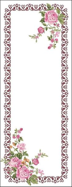 This Pin was discovered by Fil Russian Cross Stitch, Cross Stitch Rose, Cross Stitch Flowers, Towel Embroidery, Hardanger Embroidery, Cross Stitch Embroidery, Cross Stitch Boarders, Cross Stitching, Rick Rack Flowers
