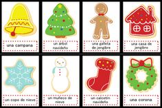Christmas Spanish Vocabulary Activities - Re-pinned by @PediaStaff – Please Visit http://ht.ly/63sNt for all our pediatric therapy pins