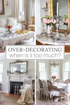 Ever wondered if your home is over decorated? If you think it might be too much, these home decor tips will help you simplify your space.