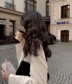Hair Inspo, Hair Inspiration, New Hair, Your Hair, Aesthetic Hair, Brunette Aesthetic, Aesthetic Light, Cream Aesthetic, Aesthetic Coffee