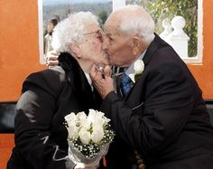 75 years married, congratulations.