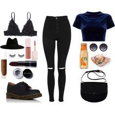 life's but a runway by deidrafashion on Polyvore featuring moda, Topshop, Monki, Yves Saint Laurent, Alice + Olivia, Puma and Bobbi Brown Cosmetics
