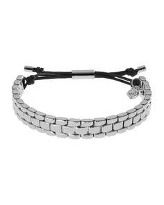Michael Kors Watch-Link Bracelet, Silver Color - Neiman Marcus