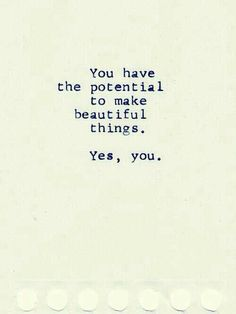 Yes you!