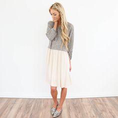 Witt Two Tone Dress