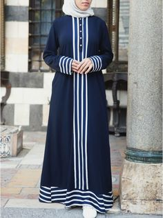Women's Islamic Clothing: New Summer Collection Hijab Evening Dress, Hijab Dress, African Fashion Dresses, Fashion Outfits, Mode Abaya, Muslim Women Fashion, Abaya Designs, Abaya Fashion, Women's Fashion