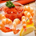 Atkins Shrimp Cocktail with Two Sauces. So delicious and so easy to make!
