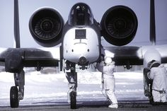 In 1982, Gorgeous A-10 'Snow Hogs' Trained in Alaska — War Is Boring