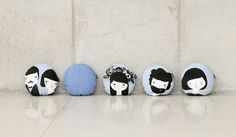 Folk Collection Blue  /// Folk Collection by Paparajote Factory - Serie Folk de Paparajote Factory