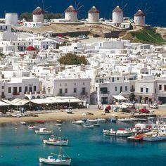 Mykonos, Greece- I WILL visit!