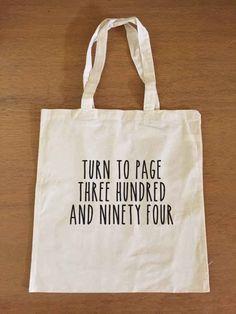 Snape Quote Tote Bag