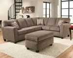 Mickey Pewter 2 PC. Sectional Sofa